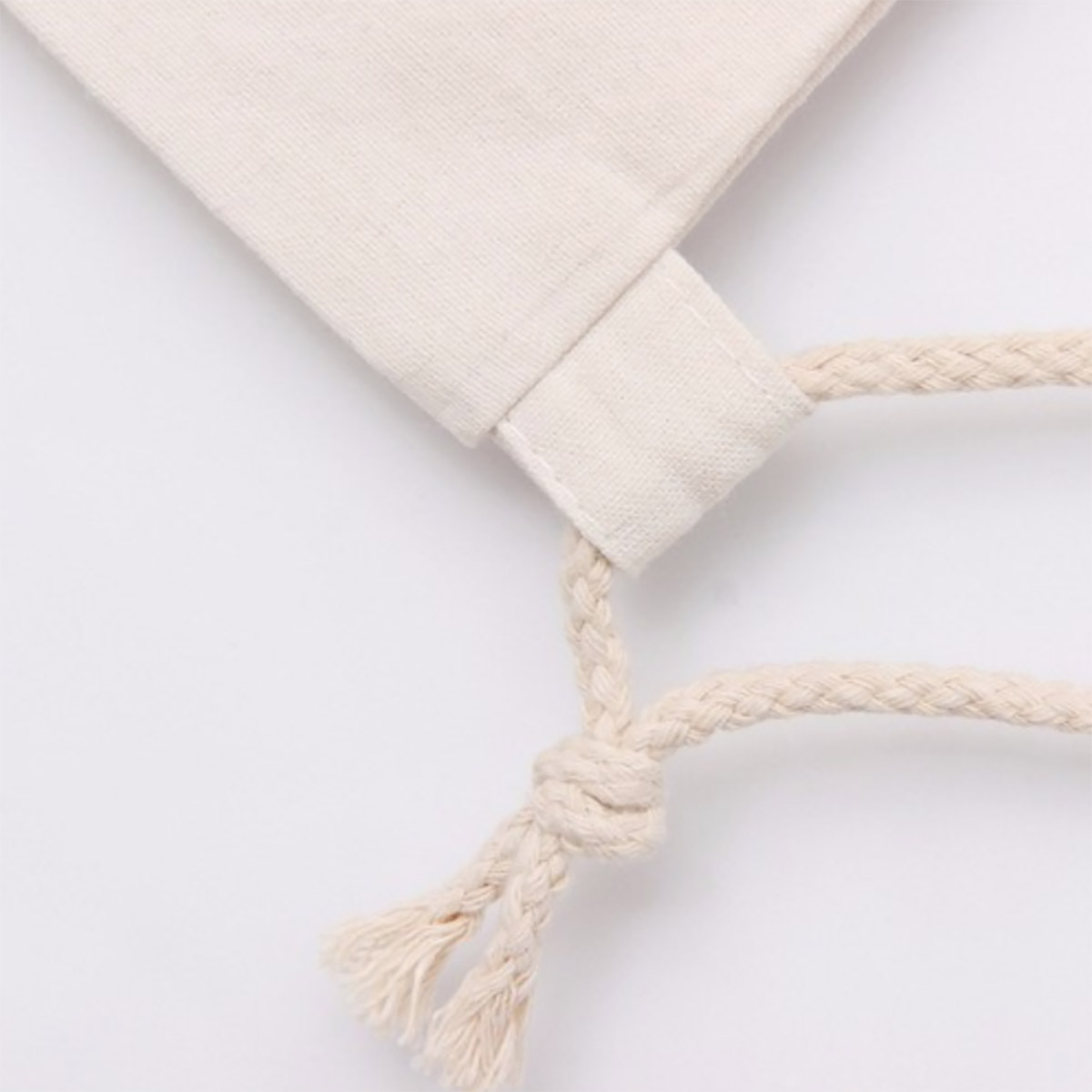 cotton bag closeup