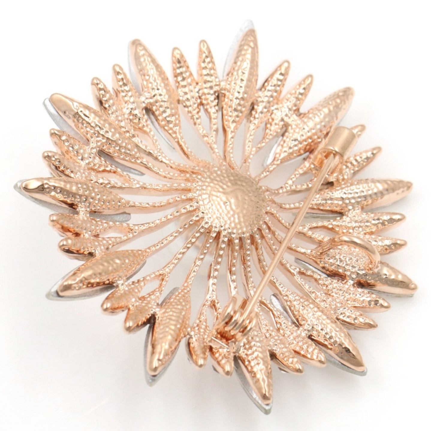 Pin brooch embellishment