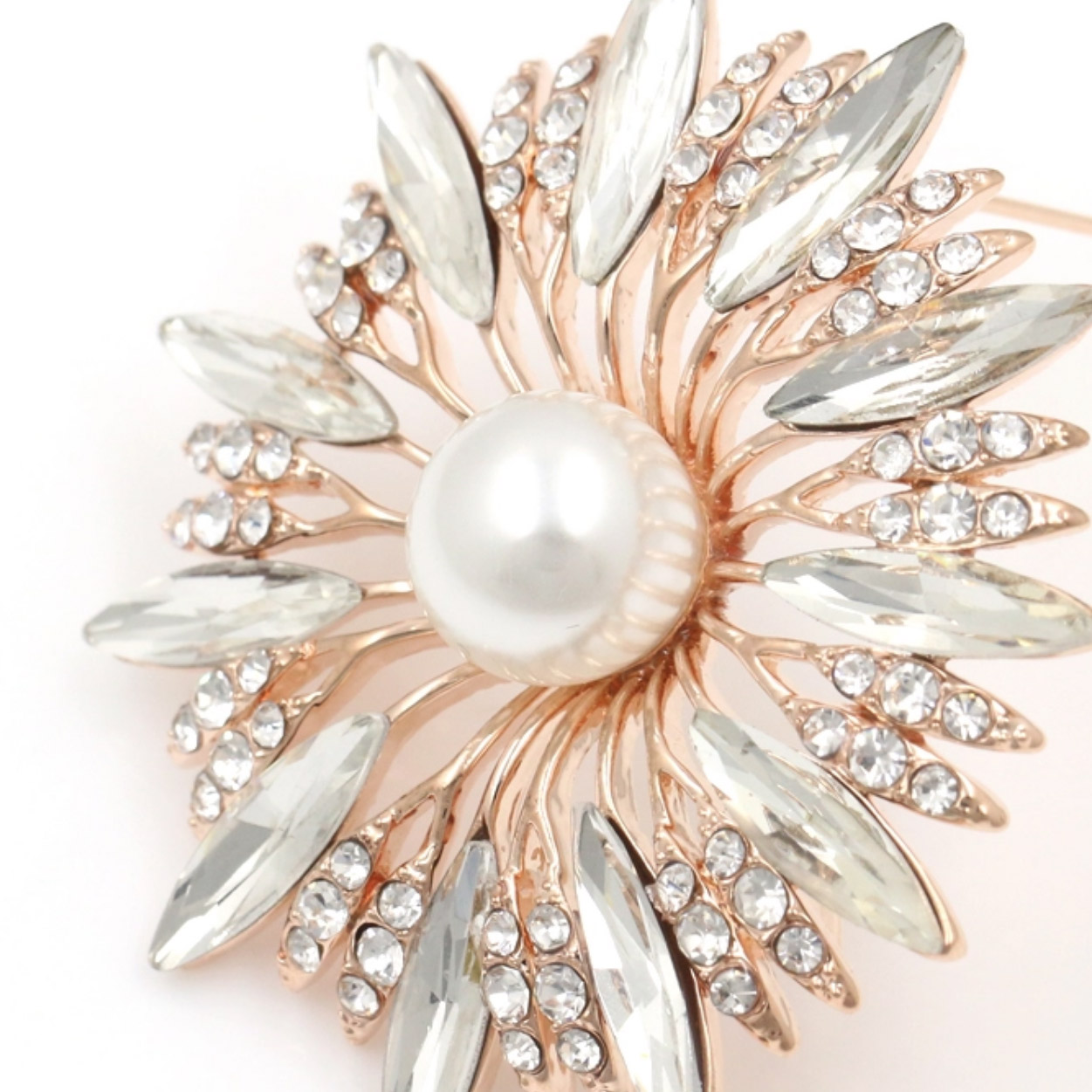 wedding pearl brooch
