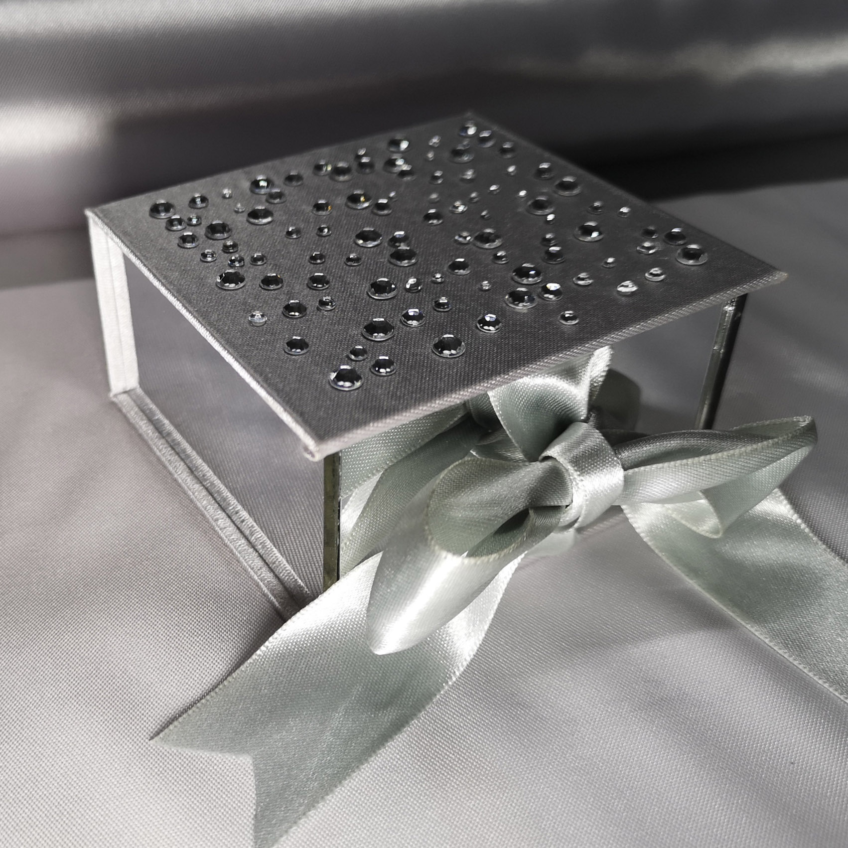 acrylic wedding favor box