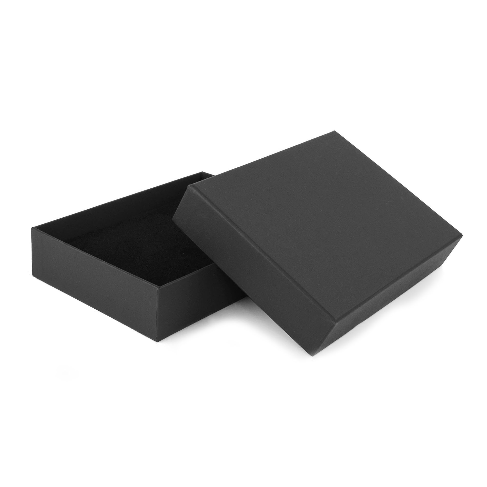 black packaging box