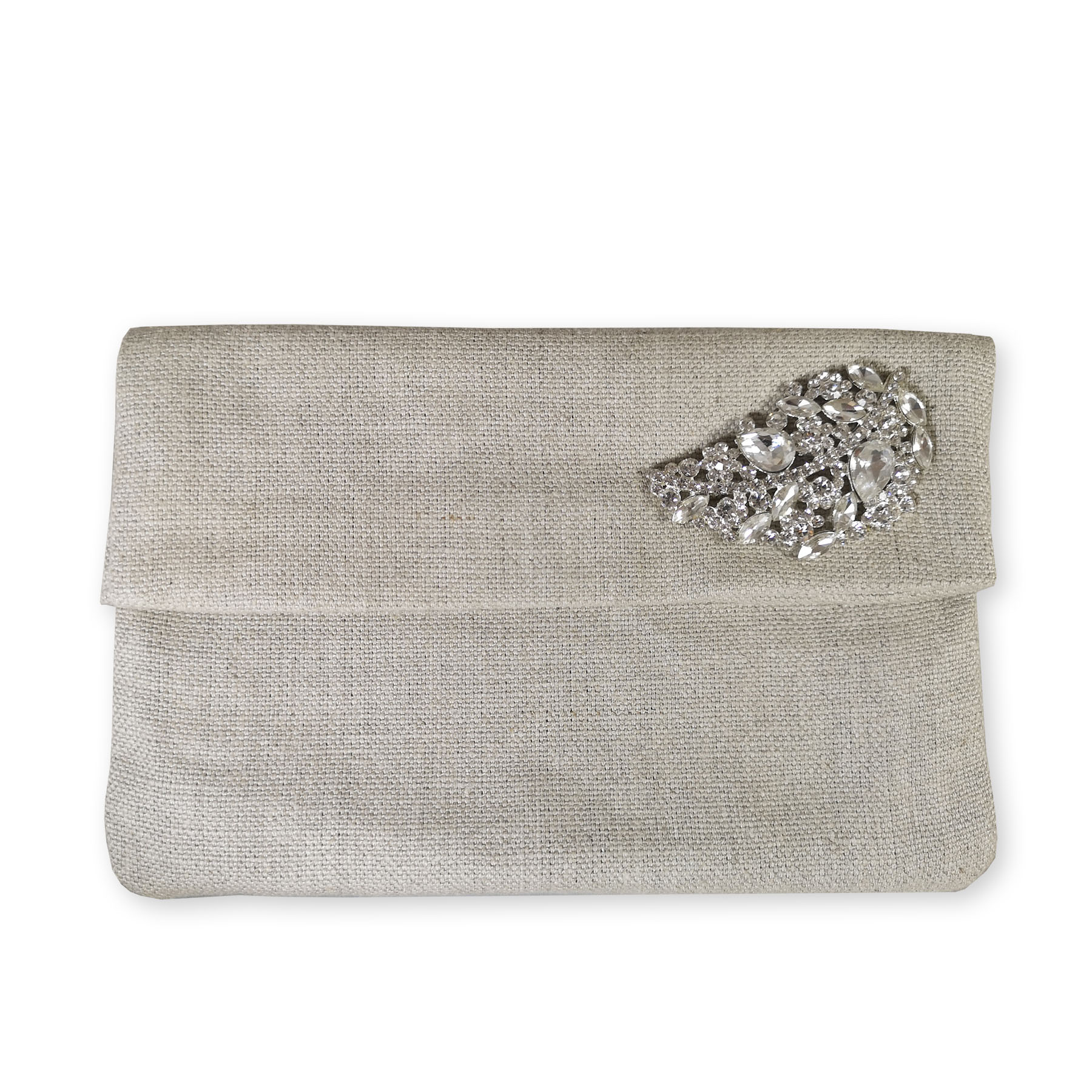 Linen clutch envelope