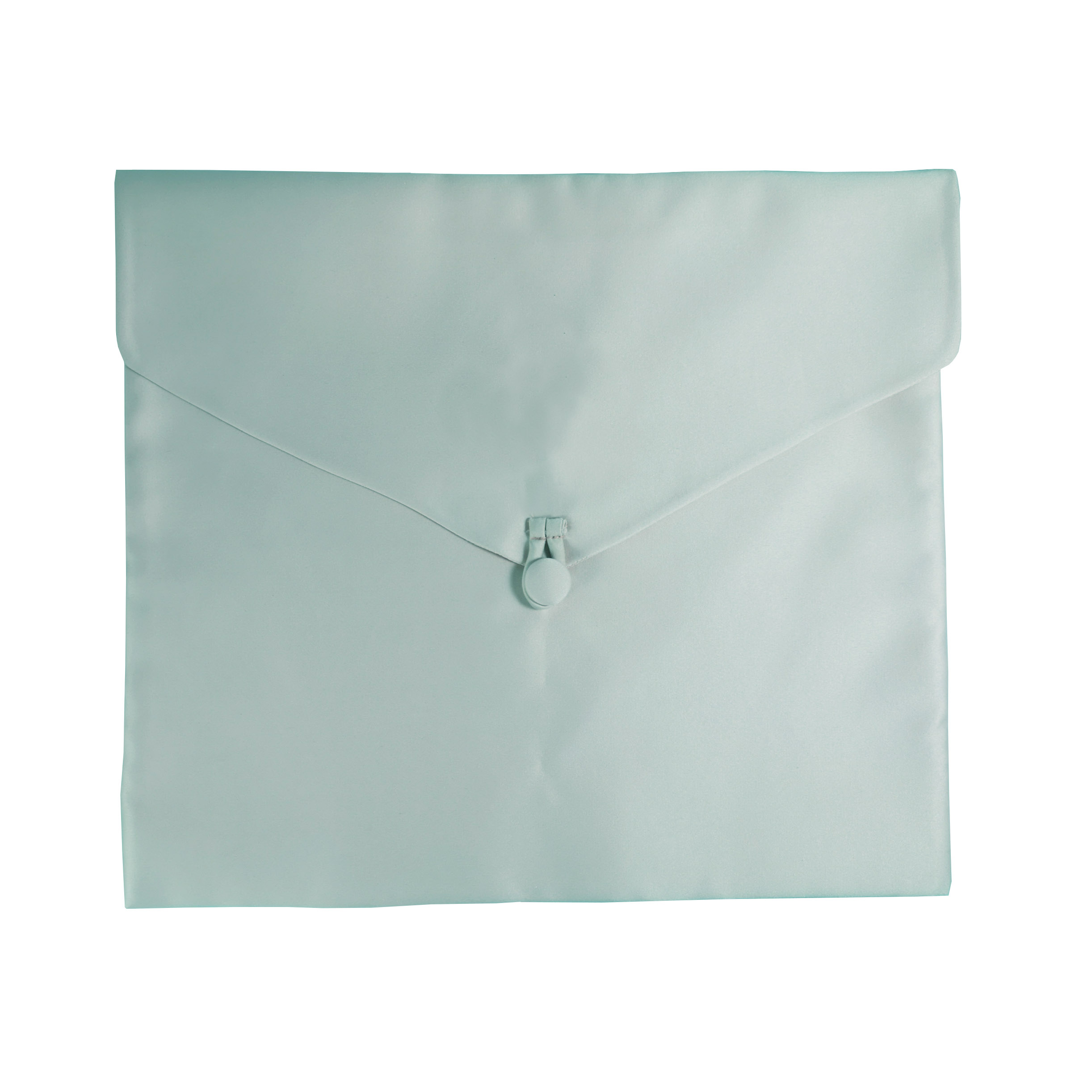 Mint 100% silk envelope for jewelry packaging
