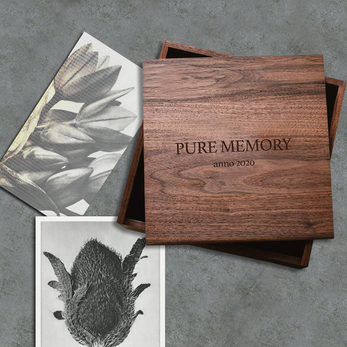 Laser Engraved Wooden Box