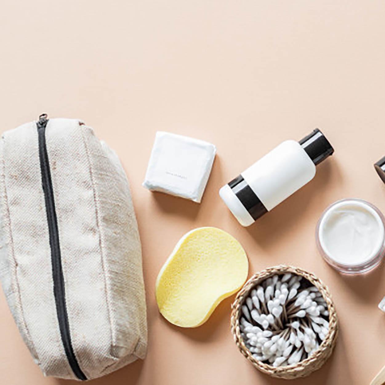 hemp travel cosmetic bag