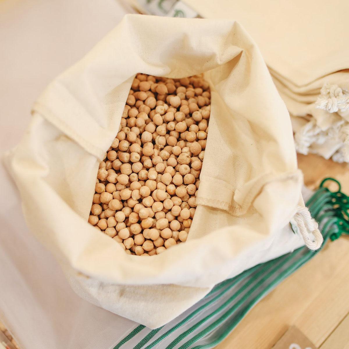 Durable cotton produce bags