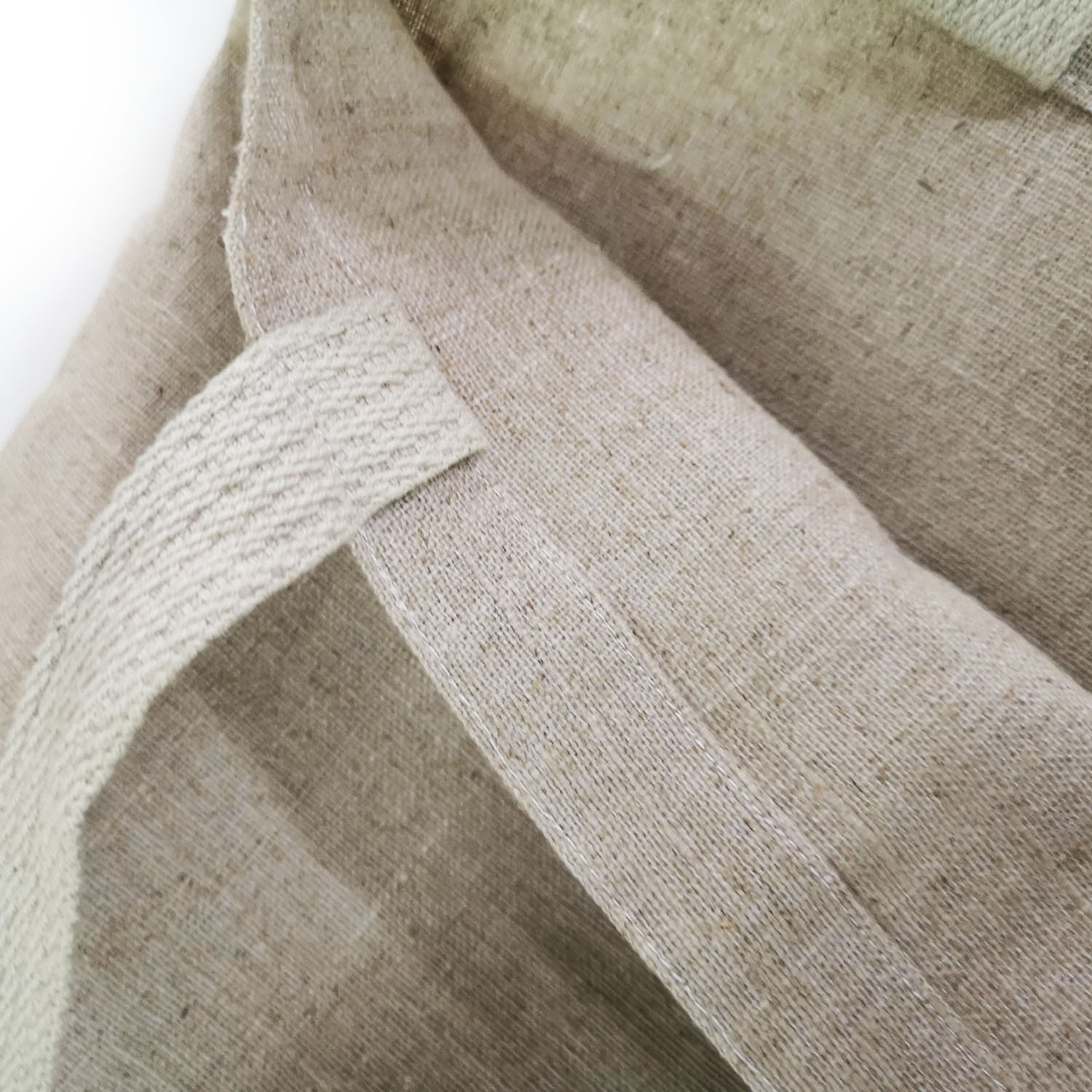 picture of interior of hemp shopping bag