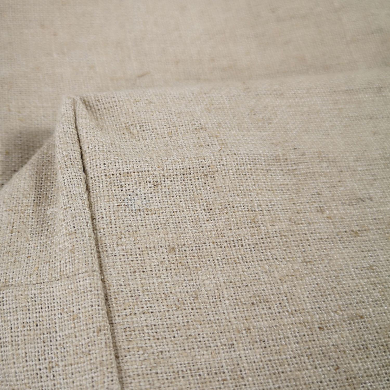 machine woven hemp textile