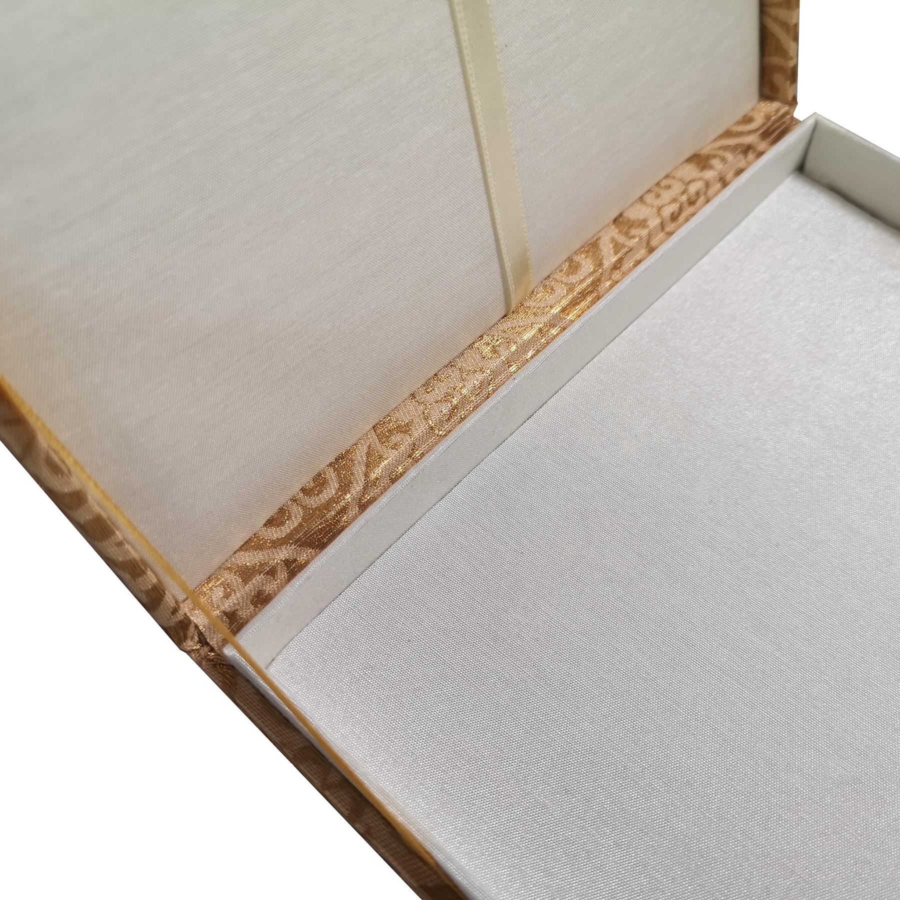 interior of indian wedding box